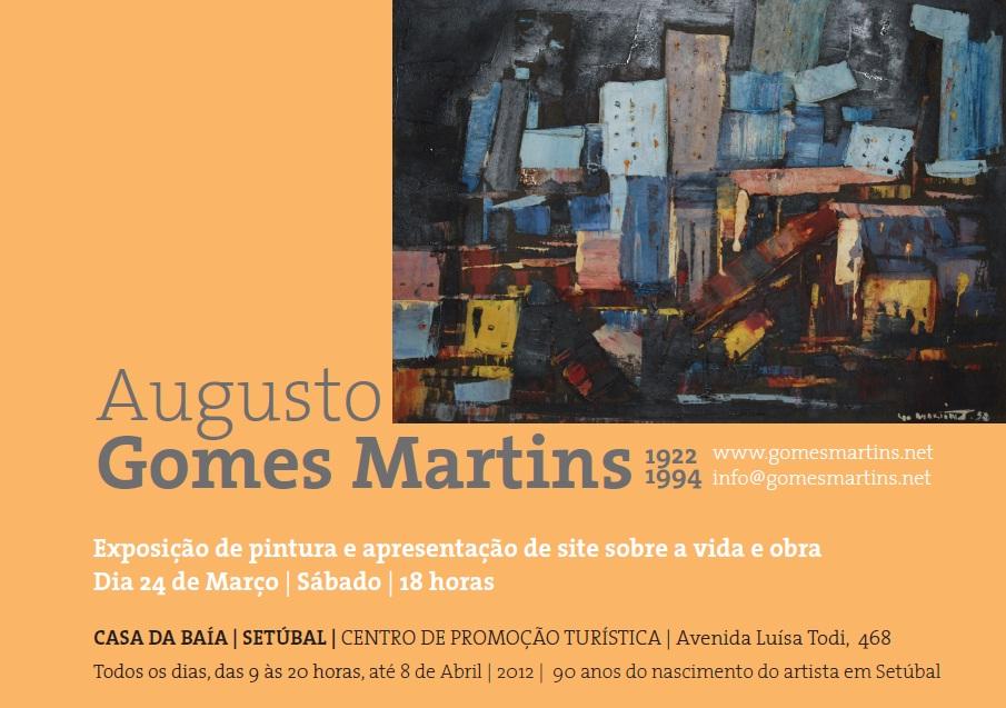 Gomes Martins, setubalense quase esquecido na Casa da Baía