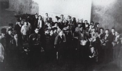 Presos do 18 de Janeiro no Forte de Peniche