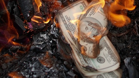 dolar a arder