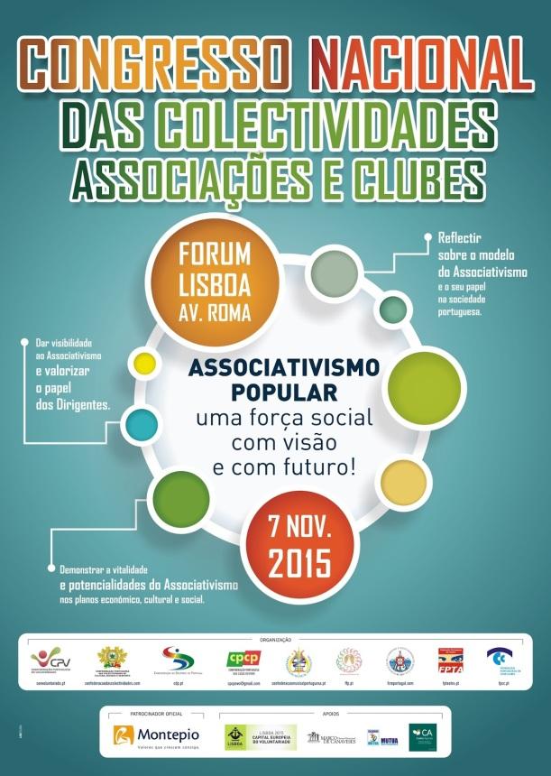 Cartaz Congresso Nacional das Colectividades