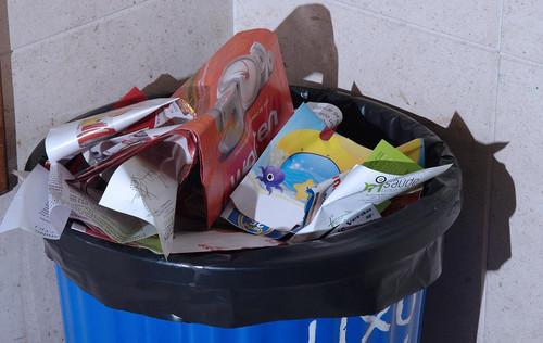 Caixote lixo
